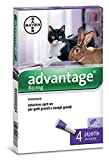 Advantage 80 for Large (4-8kg) Cats and Rabbits - 4 pipettes
