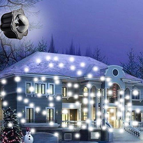 tlicht, Outdoor Projektor IP44, Weihnachtsdekoration, Halloween und Hochzeit (Outdoor-halloween-projektor)