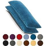 2er Set Kissenbezug 40x120 cm Doppelpack Coral Fleece Kissenhülle, Seitenschläferkissen Bezug CelinaTex Stillkissenhülle Comfortable royal blau 5001373