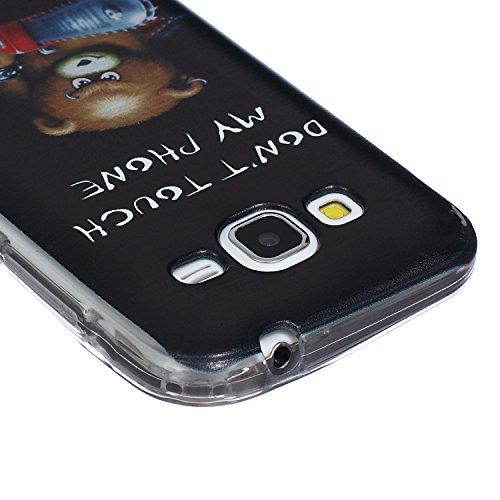 Hülle für iPhone 5s TPU Muster,TOCASO Ultra Slim Bunte Schutzhülle Silikon Gel Skin Transparent Bumper Rand Case Durchsichtig Rückschale Clear Cover Pattern Fall Handyhülle Weiche Ränder Etui Schale B Crystal Cover,#16