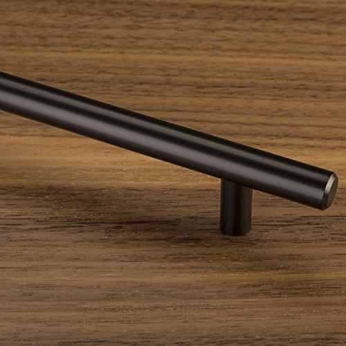 Stangengriffe Schubladengriffe Profil 15 x 15 mm 10er Set SO-TECH/® M/öbelgriffe E3 echt Edelstahl BA 128 mm
