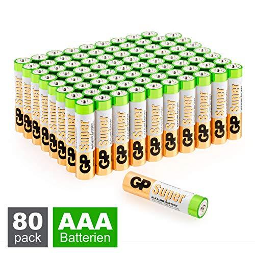 cro, LR03) Super Alkaline Technologie, Vorratspack 80 Stück (8X 10er Pack) ()