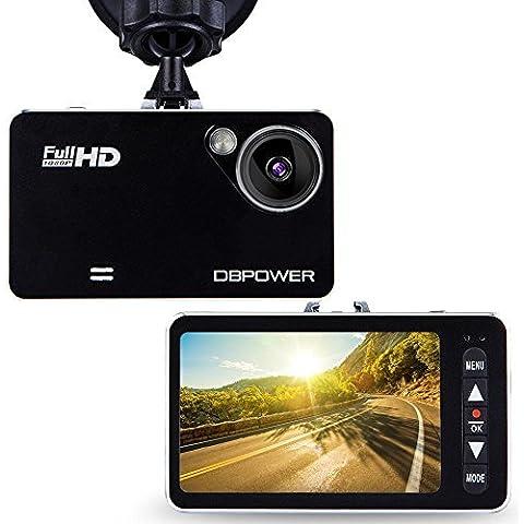 'DB Power 2,7full hd 1920x 1080120° grandangolo auto fotocamera DVR