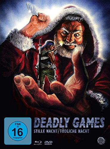 Deadly Games - Stille Nacht, Tödliche Nacht (Blu-ray, DVD + Bonus-DVD) (Digipack im Schuber) (Limited Edition)