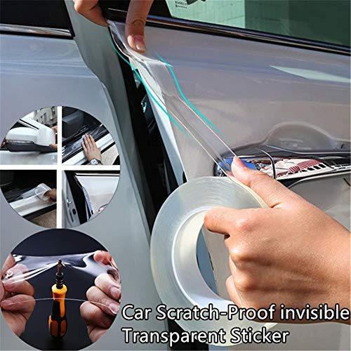 jpkoekw lymty Car Protection Film,Protecting Car Bumper Paint Surface and Scratch Prevention Body Transparent Film