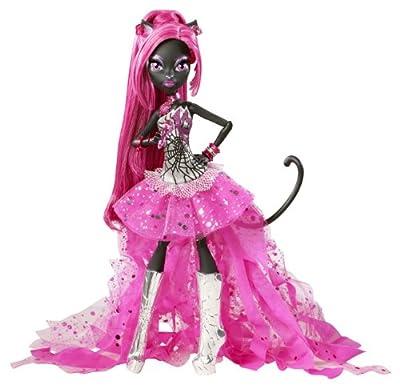 Monster High - Muñeca Catty Noir, hija del hombre gato (Mattel BGG74) de Mattel