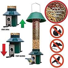 Prueba de la ardilla alimentador del pájaro - Pest-off Roamwild - Alimentador de cacahuete