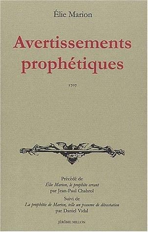 Avertissements prophétiques