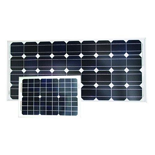 12V Solarmodul Solarzelle Solarpanel 5-50W monokristallin Marine, Leistung:30 W 30w-marine