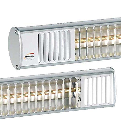 Infrarot-Heizstrahler 1.500 Watt – TERM2000 IP67 – wasserdicht für Terrasse, Balkon oder Gastronomie - 3