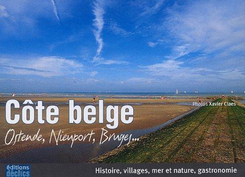 Cte belge : Ostende, Nieuport, Bruges...