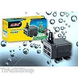 TrAdE shop TraesioFILTRO PER RICICLO ACQUA 5W 300 L/H POMPA SOMMERSA PER ACQUARIO STAGNO PF-338