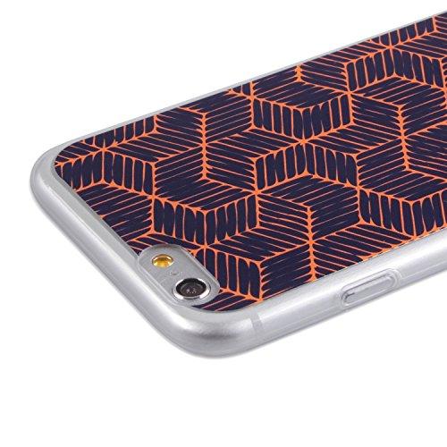 CrispyWallet Coque en Silicone 3D Neon