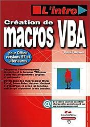 Création de macros VBA 6 pour Office