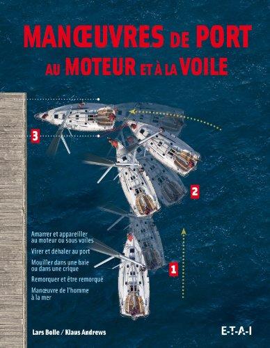 Manoeuvres de port au moteur et à la voile