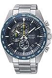 Seiko Herren Chronograph Quarz Uhr mit Edelstahl Armband SSB321P1