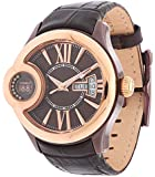 Cerruti Damen Armbanduhr Dunkelbraun CRM043L233F