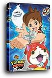 1art1 Yo-Kai Watch Poster sur Châssis (Bois) - Trio (91 x 61cm)