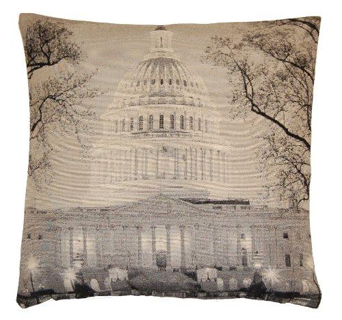 Capitol Building Kissenbezug, bedruckt (45x 45cm) (Capitol Hotel)