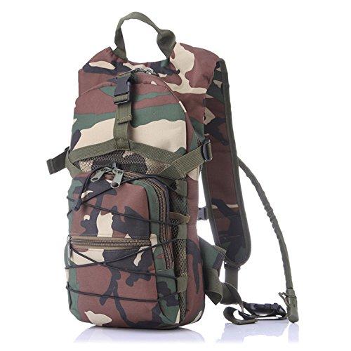 Escursionismo Zaini, borse, borse da trekking, borse all'aperto, impermeabile Zaino sportivo outdoor zaino borsa zaino capacità onere zero funzione di equitazione,verde camouflage