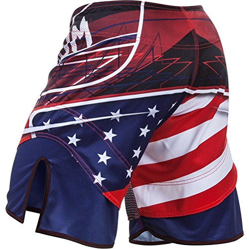 Venum, Pantaloni corti USA Hero Multicolore (Blue/Red/Ice)