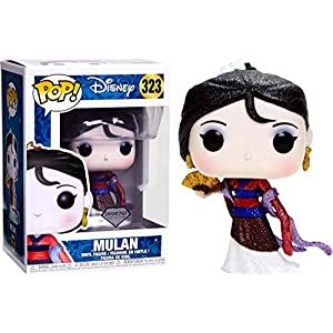 Funko Pop Mulán Glitter Diamond (Mulán 323) Funko Pop Disney