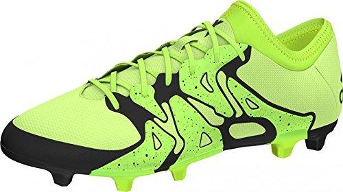 adidas X15.2 FG/AG, Chaussures de football homme Jaune, noir