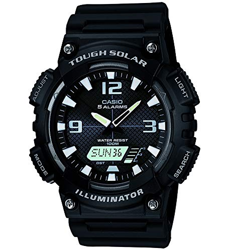 Casio Collection Herren Armbanduhr AQ-S810W-1AVEF - Casio-digital-solar-uhr