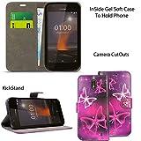 Blueenza Case For Nokia 1 (4.5