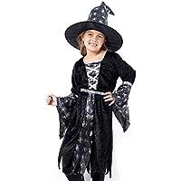 Amazon.it  Cappello da strega - Bambini   Costumi  Giochi e giocattoli 6424eb85699f