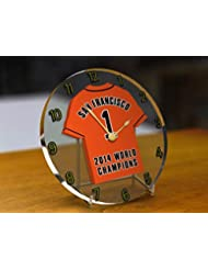 San Francisco Giants MLB – Major League Baseball Champions du Monde Collection Horloge de bureau – World Series Winners 2014