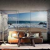 decomonkeyFototapete Fenster zum Meer Strand ...Vergleich
