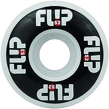 Flip Odyssey Logo Juego de 4ruedas de Skate, Odyssey Logo, blanco y negro, 52 mm