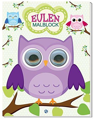 Malblock Eulen