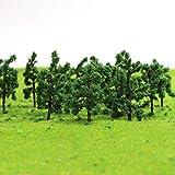 Evemodel D3210 100 x Bäume Laubbäume Spur Z 30mm -