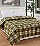 ShopGalore Single Bed AC Blanket - Green