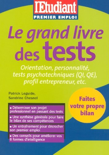 Le grand livre des tests