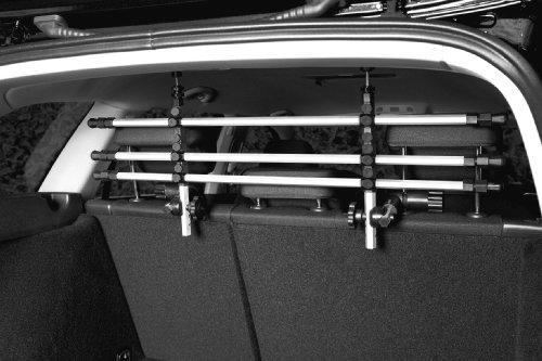 Trixie 13171 Auto-Schutzgitter, silber/schwarz