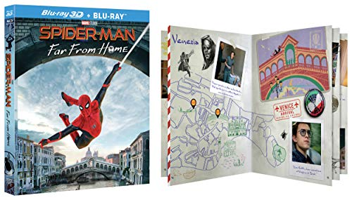 Spider Man Far From Home CollectorS Edition Blu Ray 3D e Blu Ray