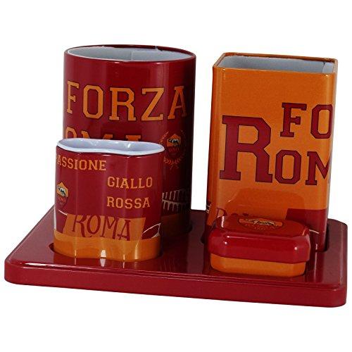 as-roma-uomo-donna-set-da-tavolo-scuola-studio-calcio-accessori-prodotto-ufficiale