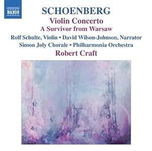 Schoenberg - Violin Concerto / A Survivor from Warsaw