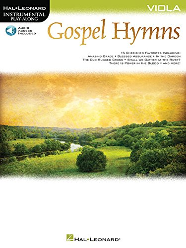 Gospel Hymns for Viola: Instrumental Play-Along (Hal Leonard Instrumental Play-along)