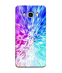 FUSON Designer Back Case Cover for Samsung Galaxy J7 (6) 2016 :: Samsung Galaxy J7 2016 Duos :: Samsung Galaxy J7 2016 J710F J710Fn J710M J710H (Colourfull Pattern With mixing Paints Graphic Arts)