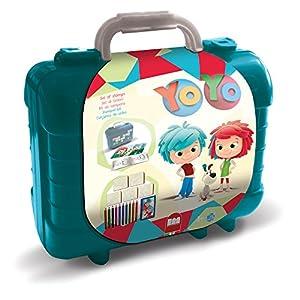 Multiprint Yo Yo - Juegos de Sellos para niños, Caucho, Madera, 3 año(s), Italia, 230 mm, 105 mm