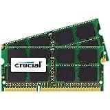 Crucial 4GB Kit (2GBx2) DDR3 1333 MT/s (PC3-10600) SODIMM 204-Pin Mémoire pour Mac - CT2C2G3S1339MCEU
