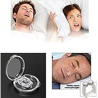 Preisvergleich für GKA Schnarchwunder Magnet Schnarchstopper Schnarcher Slumber Anti-Schnarchclip Nasenclip Anti Schnarchen Nasenspreizer