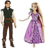 Lot de 2 Poupées Disney Classique Raiponce avec Pascal, et Flynn Rider – +30 cm