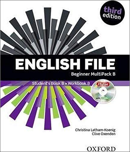 English File 3rd Edition Beginner. Student's Book + Workbook Multipack B (English File Third Edition)