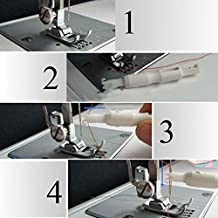 Enhebrador de agujas para máquina de coser, para enhebrar el hilo