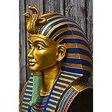 La máscara de oro muerte máscara de Tutankamón joyería, diseño de réplica de tamaño Original